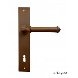 Kovaná kľučka na dvere model 1900