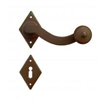 Kovaná kľučka ke dverim model 4-43