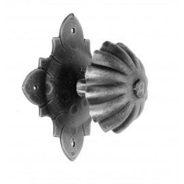 Kovaná guľa na rozete model 524C