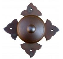 Kovaná guľa na rozete model 1704