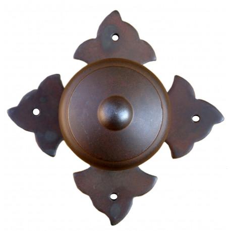 Kovaná guľa na rozetě model 1704