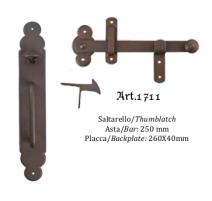 Kovaná závora s tiahlom model 1711