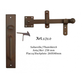 Kovaná závora model 1710