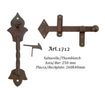 Kovaná závora model 1712