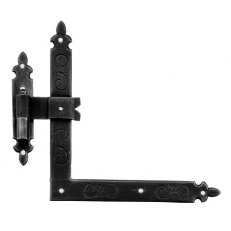 Kovaný rohový pánt model 96