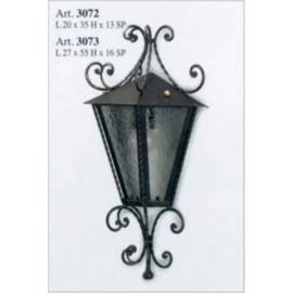 Kovaná nástenná lucerna model 3072