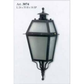 Kovaná nástenná lucerna model 3074