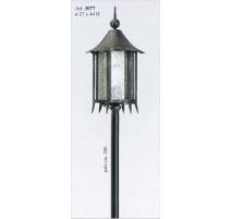 Vonkajšia kovaná stojaca lampa model 3077