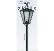Vonkajšia kovaná stojaca lampa model 3078