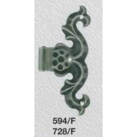 Kovaný falošný pant model 594F