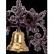 Kovaný zvonček na stenu model 3022