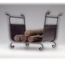 Kovaný kôš na drevo ku krbu model 3012