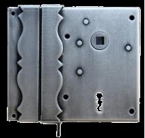 Kovaný zámok na dvere/bránu model 5800DEK