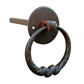 Kovaná kruhová kľučka model 1837