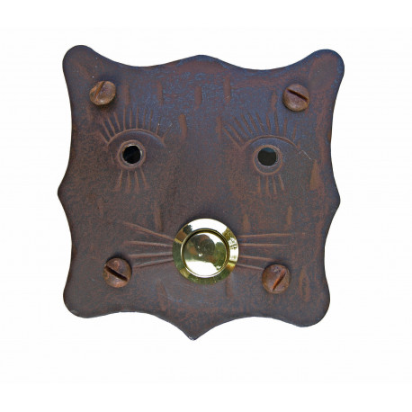 Kovaná krytka na zvonček model 244